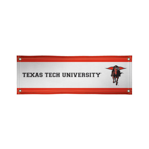The 2Ft x 6Ft Texas Tech Red Raiders Vinyl Fan Banner - Victory Corps 810022TTU-001