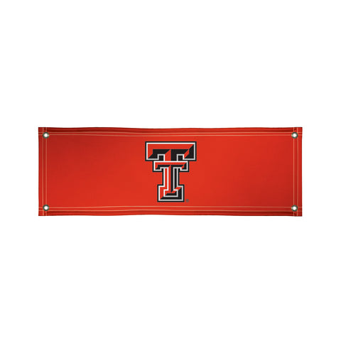 The 2Ft x 6Ft Texas Tech Red Raiders Vinyl Fan Banner - Victory Corps 810022TTU-002