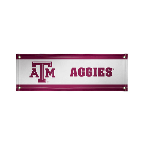 The 2Ft x 6Ft Texas A&M Aggies Vinyl Fan Banner - Victory Corps 810022TXAM-001