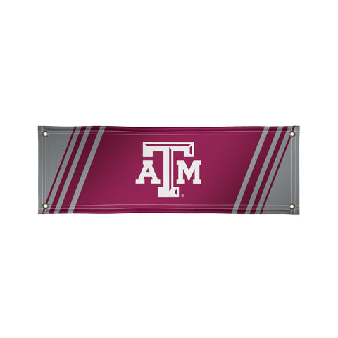 The 2Ft x 6Ft Texas A&M Aggies Vinyl Fan Banner - Victory Corps 810022TXAM-003