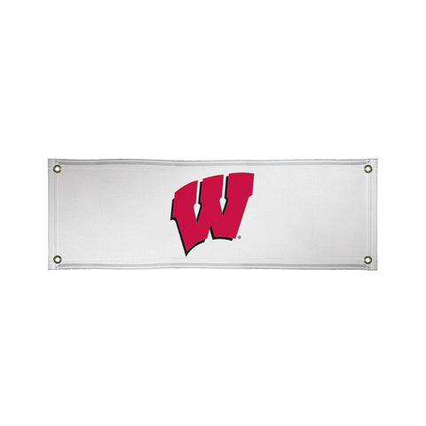 The 2Ft x 6Ft Wisconsin Badgers Vinyl Fan Banner - Victory Corps 810022WIS-001
