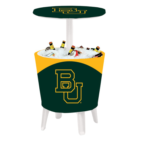 The Baylor Bears Four Seasons Event Cooler Table by Victory Corps - 810024BAY-001