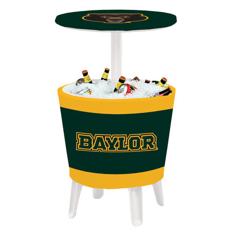 The Baylor Bears Four Seasons Event Cooler Table by Victory Corps - 810024BAY-003