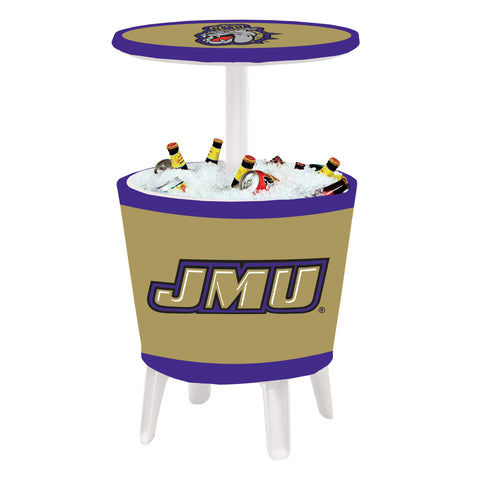 The JMU Dukes Four Seasons Event Cooler Table by Victory Corps - 810024JAMAD-001
