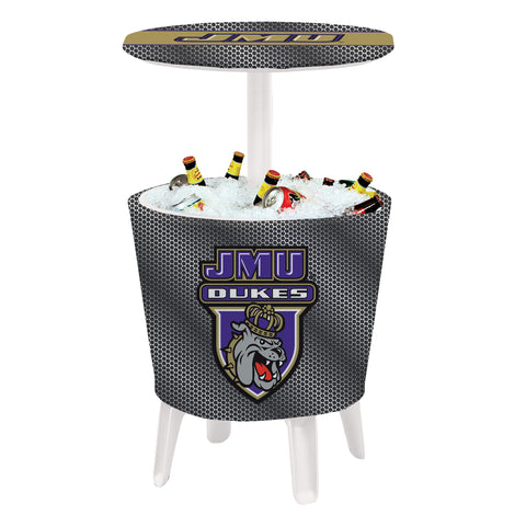 The JMU Dukes Four Seasons Event Cooler Table by Victory Corps - 810024JAMAD-003