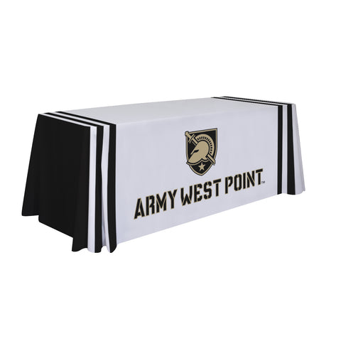US Army Black Knights 6' Table Cloth Throw Cover by Victory Corps - 810026ARMY-002