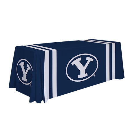 BYU Cougars 6' Table Cloth Throw Cover by Victory Corps - 810026BYU-002