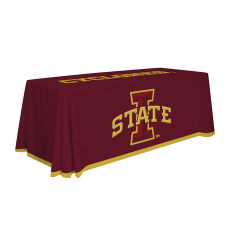 Iowa State Cyclones 6' Table Cloth Throw Cover by Victory Corps - 810026IAS-001