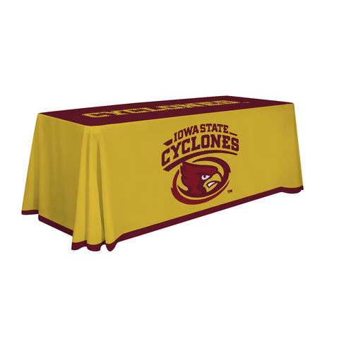 Iowa State Cyclones 6' Table Cloth Throw Cover by Victory Corps - 810026IAS-002
