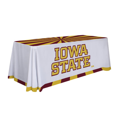 Iowa State Cyclones 6' Table Cloth Throw Cover by Victory Corps - 810026IAS-003