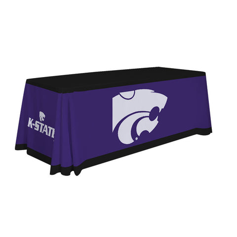 Kansas State Wildcats 6' Table Cloth Throw Cover by Victory Corps - 810026KSU-001