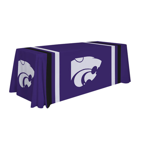 Kansas State Wildcats 6' Table Cloth Throw Cover by Victory Corps - 810026KSU-002