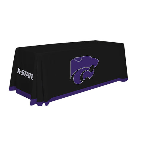 Kansas State Wildcats 6' Table Cloth Throw Cover by Victory Corps - 810026KSU-003