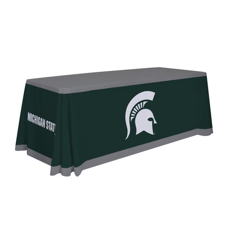 Michigan State Spartans 6' Table Cloth Throw Cover by Victory Corps - 810026MSU-001