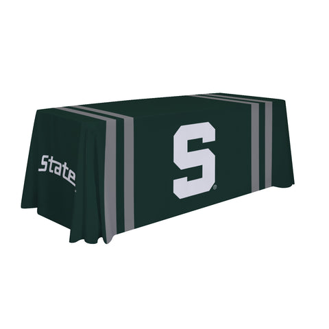 Michigan State Spartans 6' Table Cloth Throw Cover by Victory Corps - 810026MSU-002