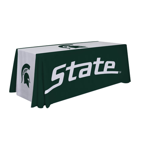 Michigan State Spartans 6' Table Cloth Throw Cover by Victory Corps - 810026MSU-003