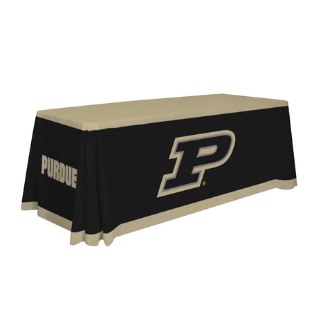 Purdue Boilermakers 6' Table Cloth Throw Cover by Victory Corps - 810026PUR-001