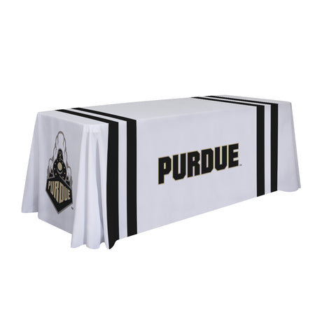 Purdue Boilermakers 6' Table Cloth Throw Cover by Victory Corps - 810026PUR-002
