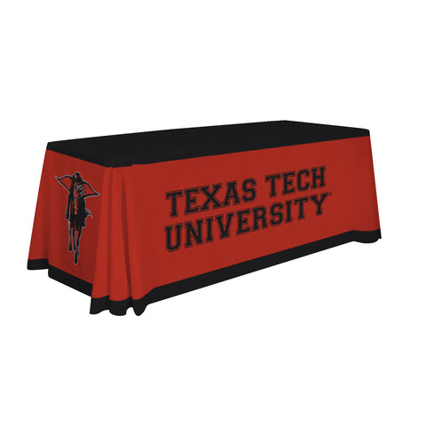 Texas Tech Red Raiders 6' Table Cloth Throw Cover by Victory Corps - 810026TTU-001