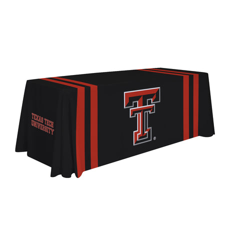 Texas Tech Red Raiders 6' Table Cloth Throw Cover by Victory Corps - 810026TTU-002