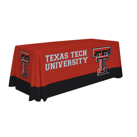 Texas Tech Red Raiders 6' Table Cloth Throw Cover by Victory Corps - 810026TTU-003