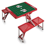 Red Picnic Table - Arizona Cardinals