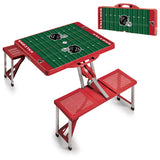 Red Picnic Time Portable Table - Atlanta Falcons