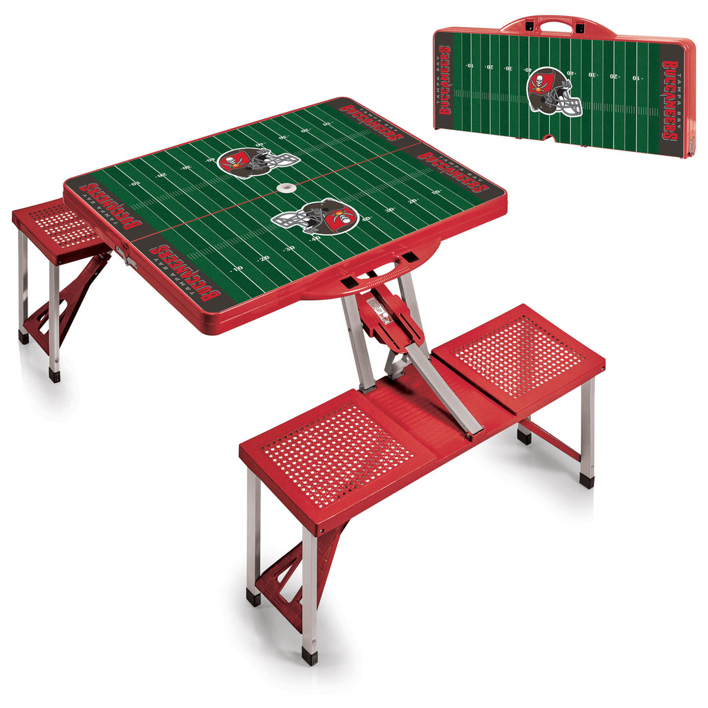 Tampa Bay Buccaneers Picnic Table