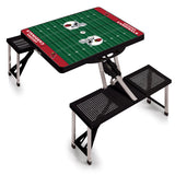 Cardinals Picnic table - black open Arizona
