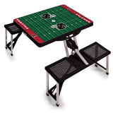 Black Atlanta Falcons Picnic Table