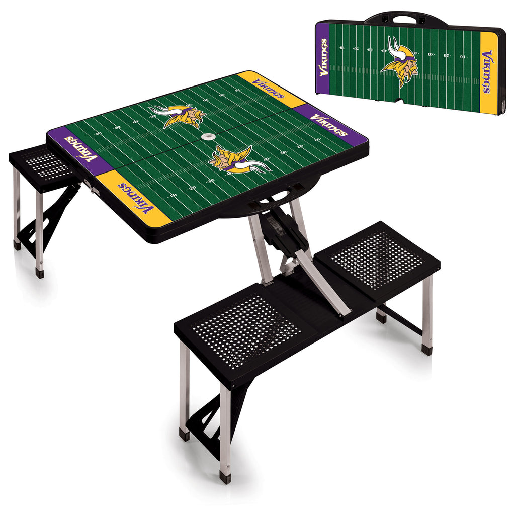 Minnesota Vikings Picnic Table