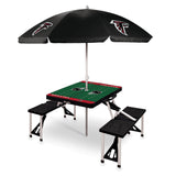 Atlanta Picnic Table with Umbrella Falcons