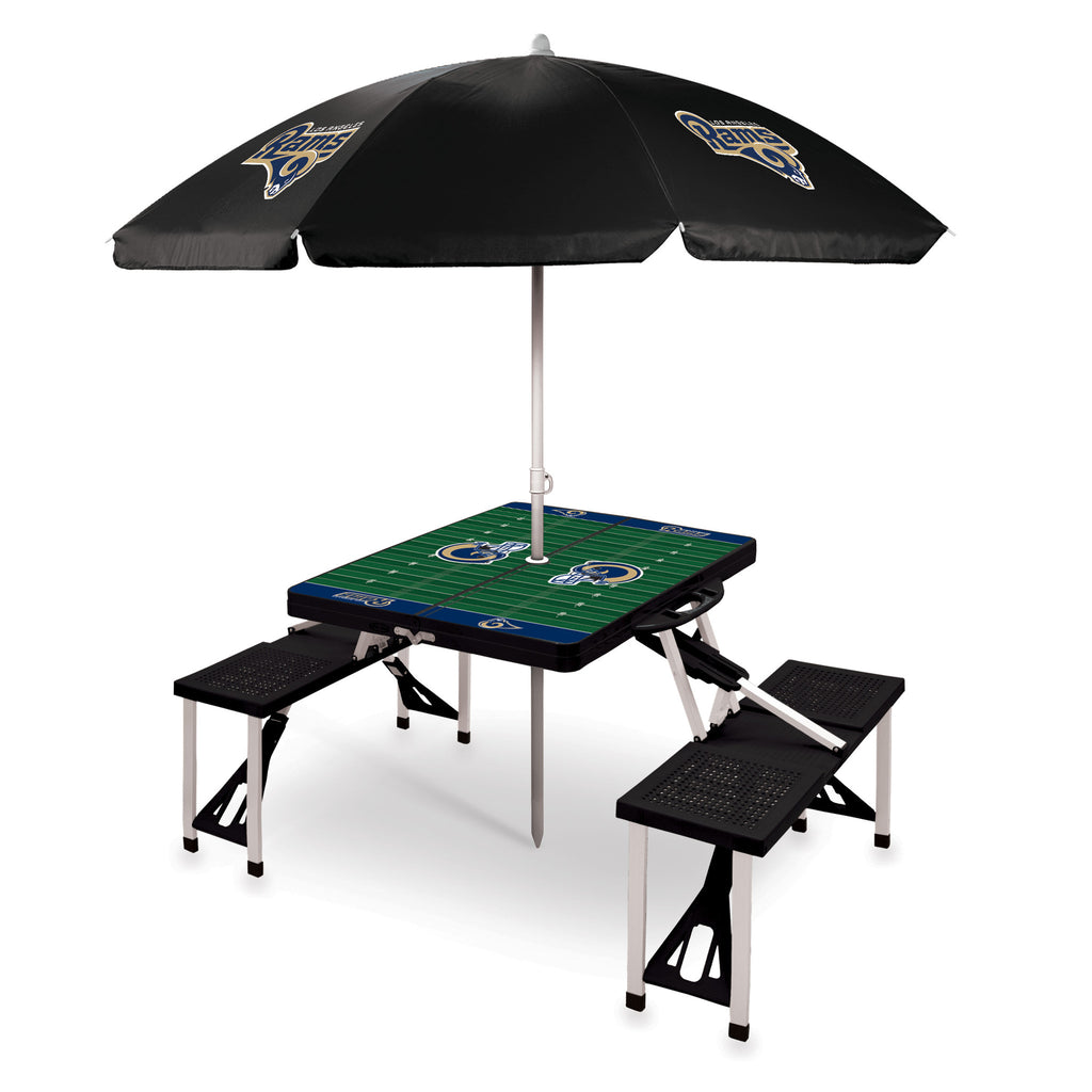 Portable Picnic Table Sport with Umbrella by Picnic Time