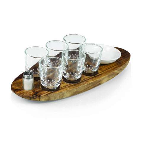 The Cantinero Shot Serving Tray