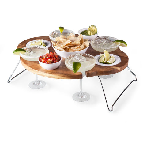 The Mesarita Margarita Serving Tray for Four