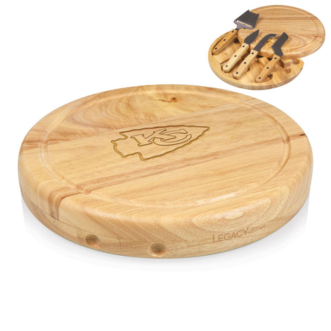 The Kansas City Chiefs Circo Cutting Board - Picnic Time 854-00-505-163-2