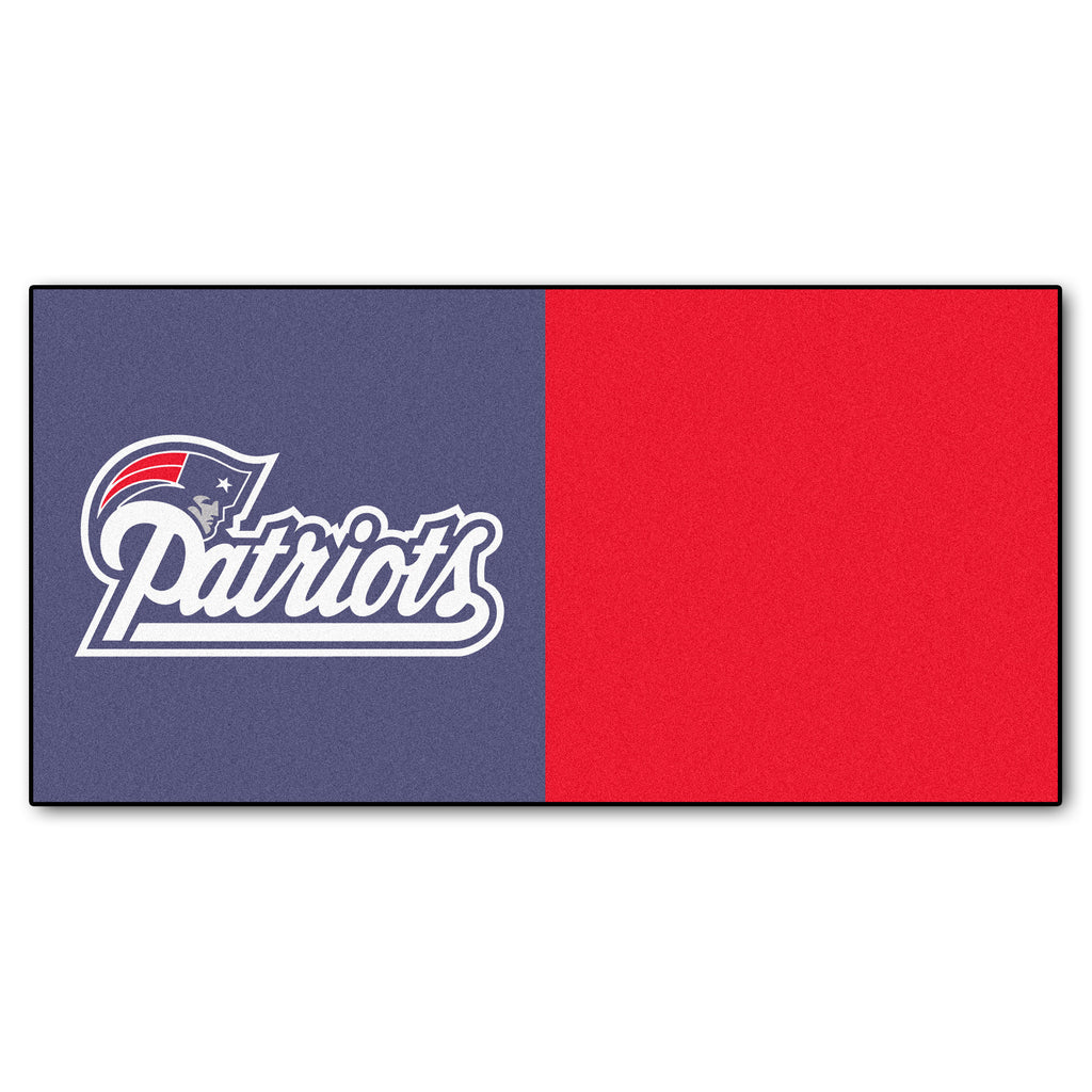 Team Carpet Tiles -	New England Patriots