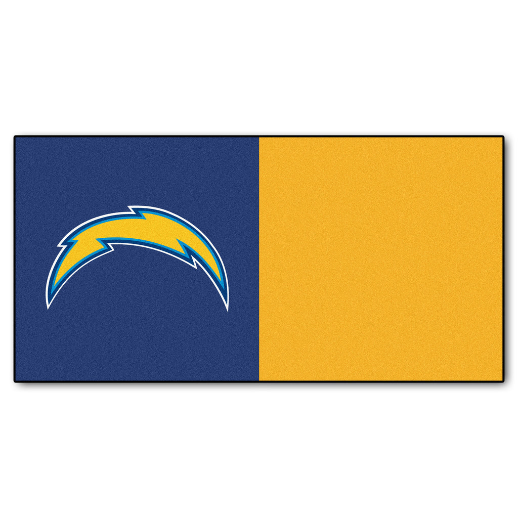 Team Carpet Tiles - San Diego Chargers