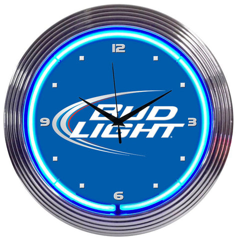 Neonetics Bud Light Neon Clock - 8BUDLI