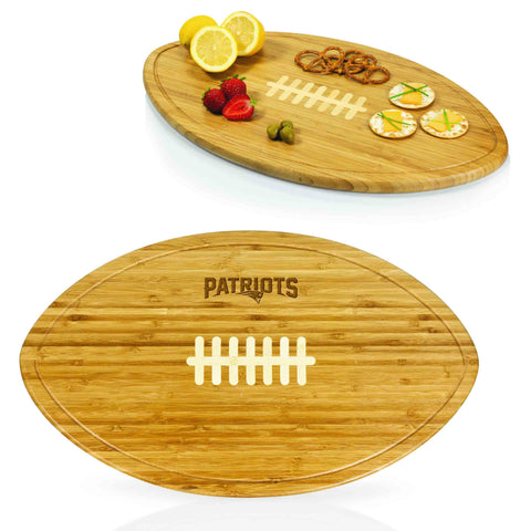 The New England Patriots Kickoff Party Platter Serving Tray - Picnic Time 908-00-505-193-2