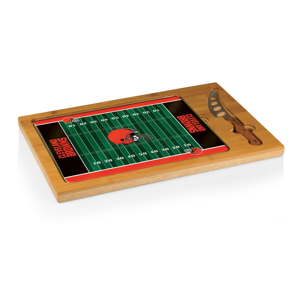 Cleveland Browns Icon cheese board