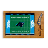 cheese service tray Carolina Panthers