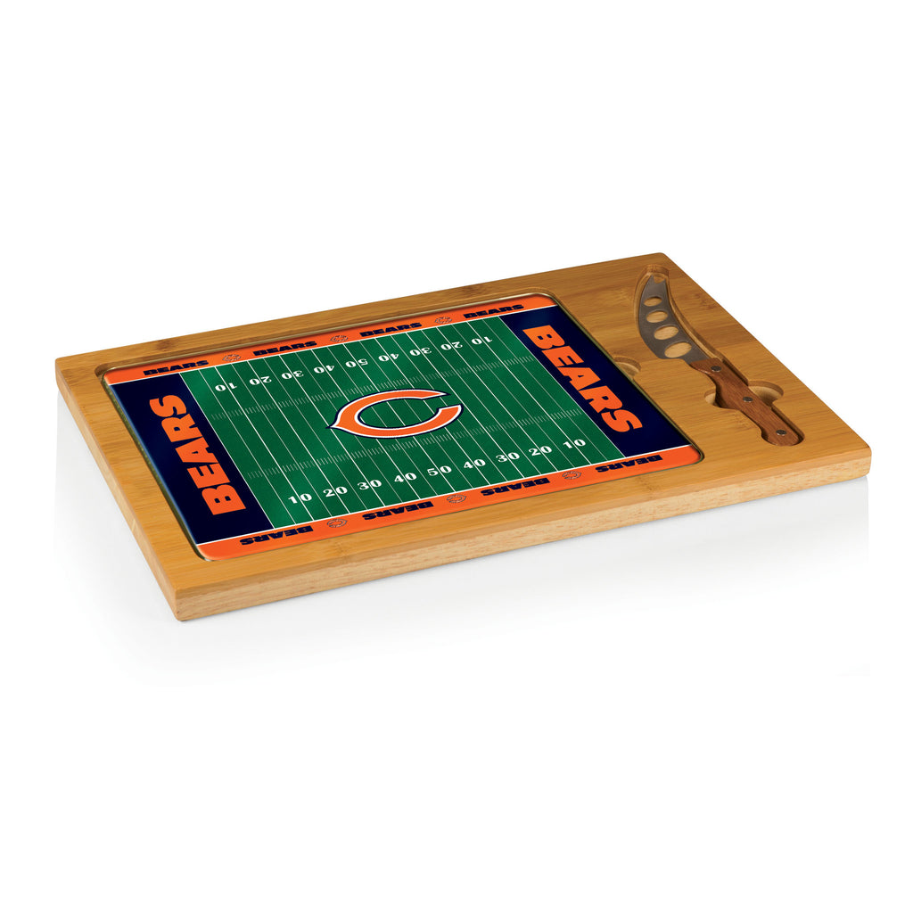Chicago Bears Icon cheese board