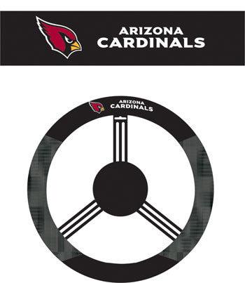The Arizona Cardinal Steering Wheel Poly-Suede Cardinals Cover BSI 98522