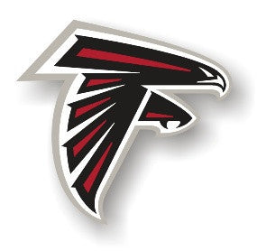 Atlanta Falcons Vinyl Logo Car Magnet - 98790