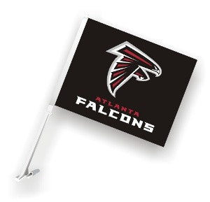 The Atlanta Falcon Logo Two Sided Flag shows Falcons spirit