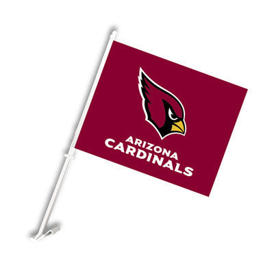 The Arizona Cardinal Logo Two Sided Flag shows Cardinals spirit
