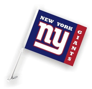 The New York Giant Logo Two Sided Flag shows Giants spirit