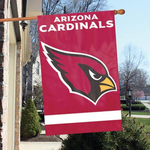 Arizona Cardinals  Applique Banner Flag Party Animal Afac