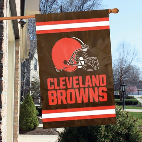 Cleveland Browns  Applique Banner Flag Party Animal Afbr
